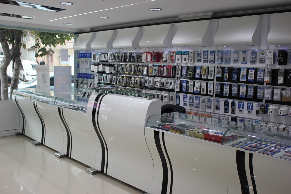 beautiful mobile shop interior design ideas images